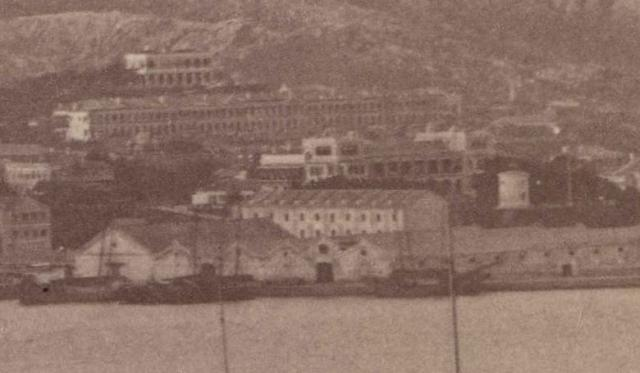 Victoria Harbour and Kowloon 1890s (Zoom-in)