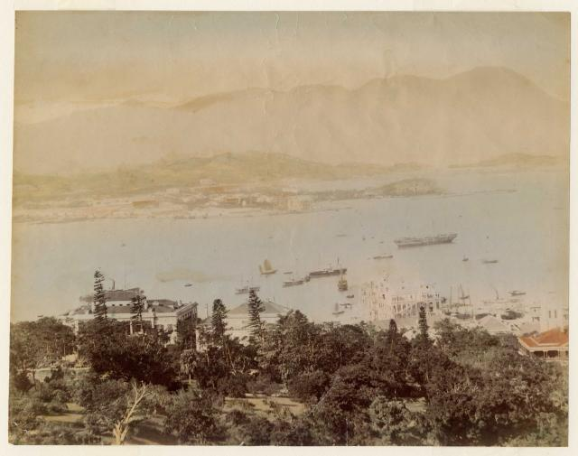 Victoria Harbour and Kowloon 1896-97
