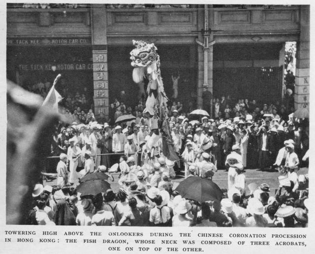 Dragon Dancers-celebration for Coronation of King George 6th-1937-003