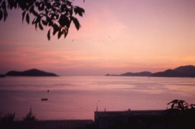 1950s View from Repulse Bay out to Round Island, Fred Evans' photos