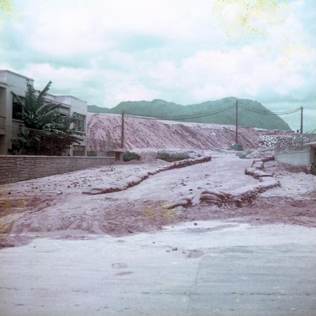 Typhoon Mary damage