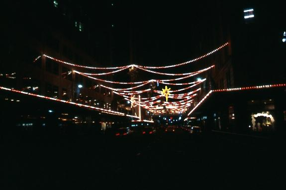 Nathan road Xmas Lights