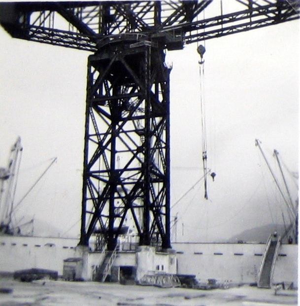 The hammerhead crane