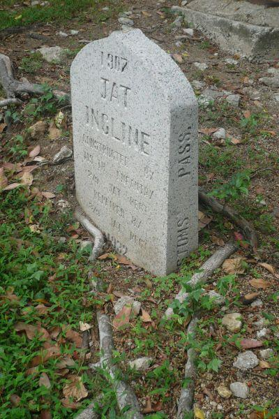 2011 Jat Incline Marker Stone (Right Side)