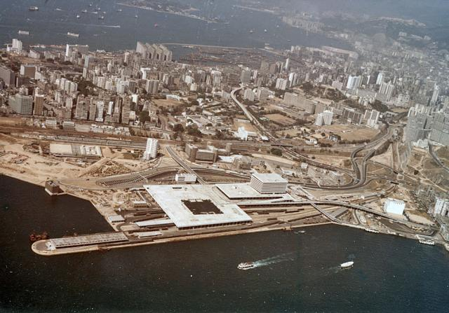 Kowloon from the air