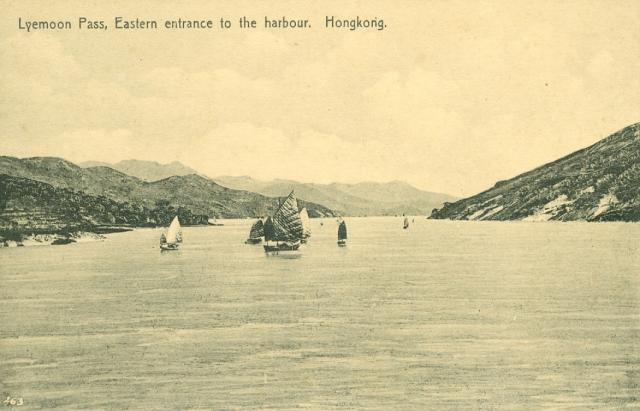 Lyemoon Pass, Eastern entrance to the harbour
