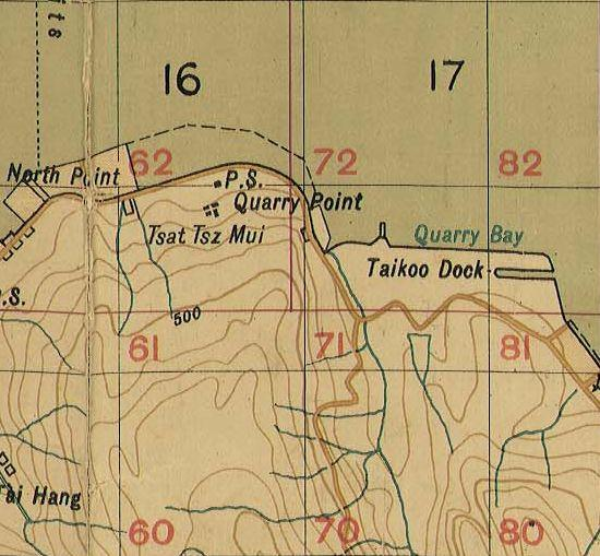 1922 North Point Map