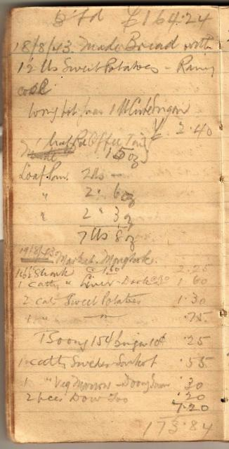 Tom Hutchinson's War Diary - Page 6