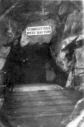 1930s West Battery, Stonecutters Island