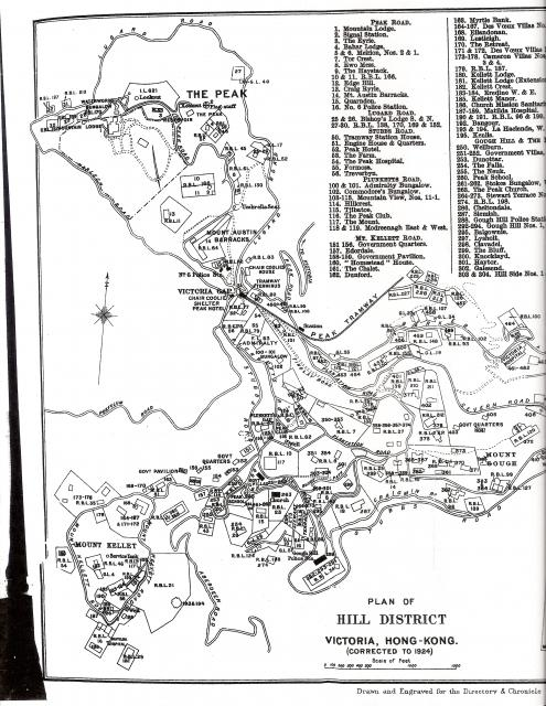 The Peak - Map 1924 (1 of 2)