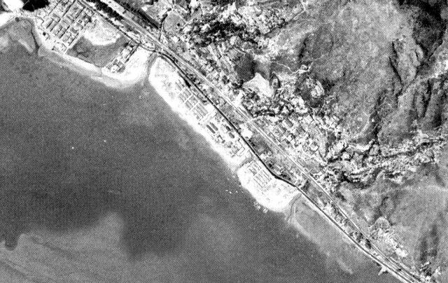 Shatin Roadhouse-location aerial view 1964