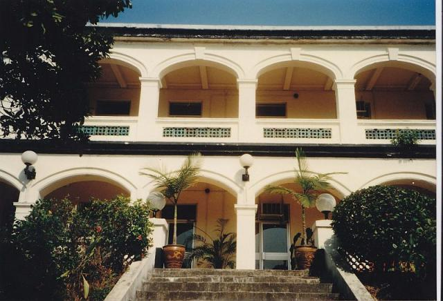 Old Military Building (Stonecutters Island)