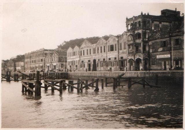 1937 Typhoon damage - Kennedy Town