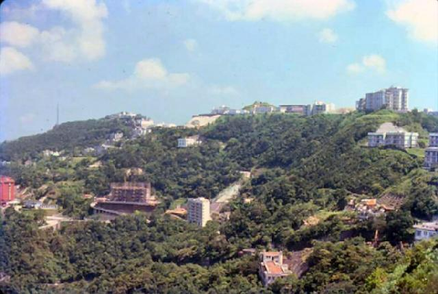 1979 - view from the Peak