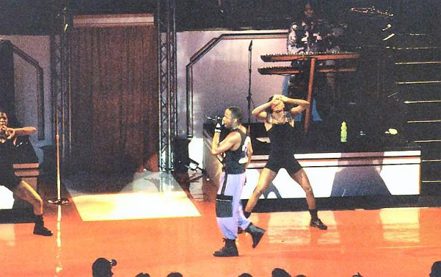 1993 - Bobbi Brown in concert