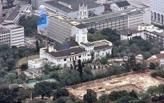 1983 - Government House from the Peak