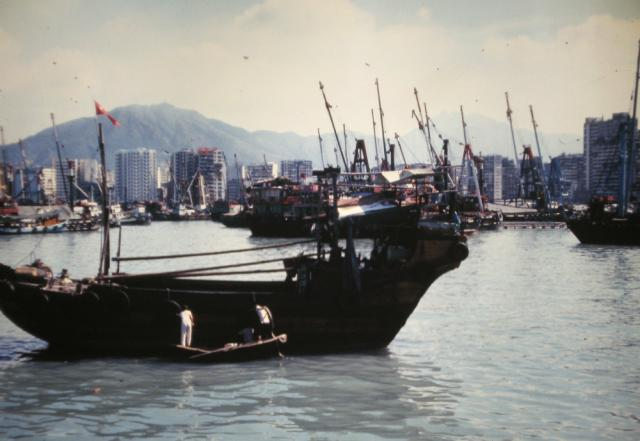 Yau Ma Tei typhoon shelter