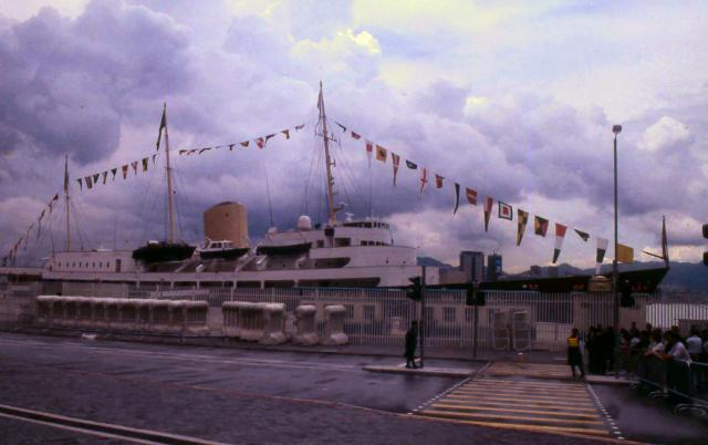 1997 - Royal Yacht Brittania