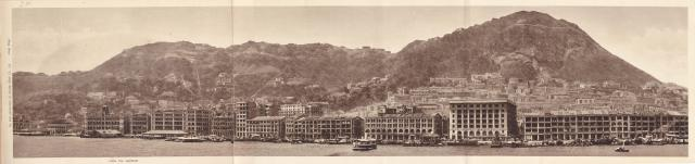 17 Hilly Hong Kong City from Harbour Panorama