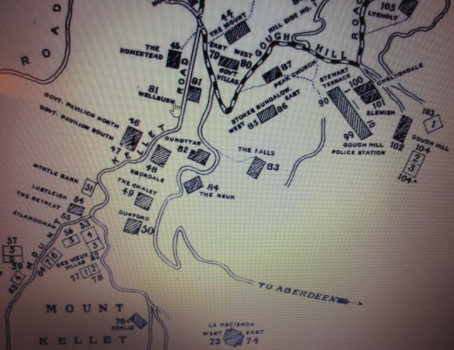 extract from 1909 map