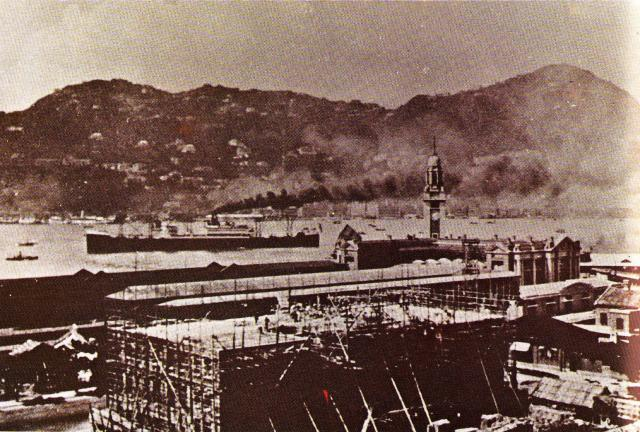1924 Peninsula under construction