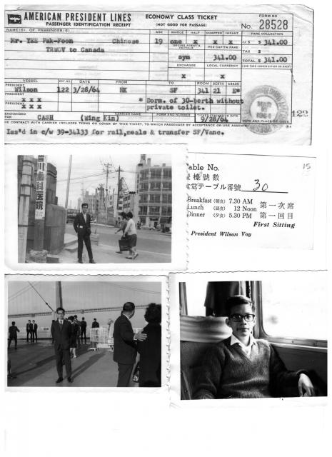 Travel - Kowloon Wharf to San Francisco (1964)