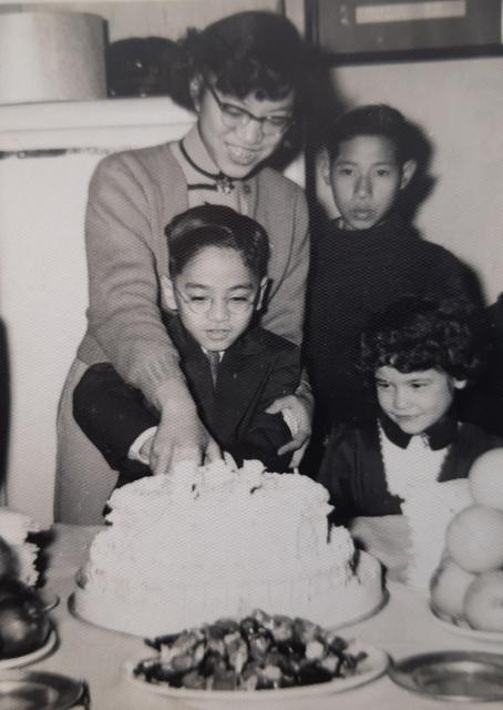 Cousin Mabel (Lui La Yin and Josephine's daughter) on my birthday