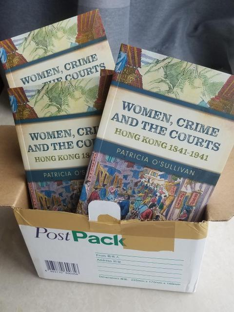 """Delivery of """"Women, Crime and the Courts"""""""