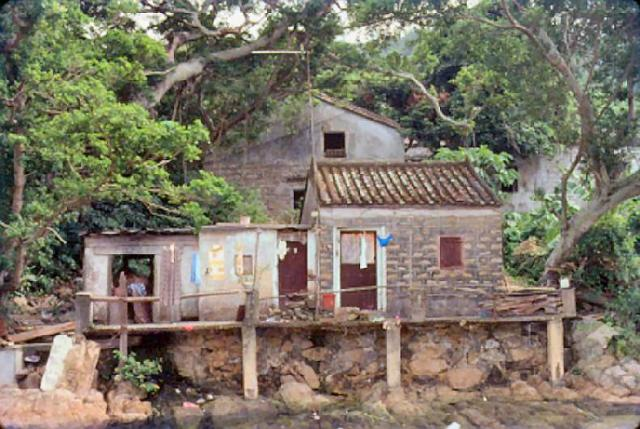 1980 - walking to Chi Ma Wan