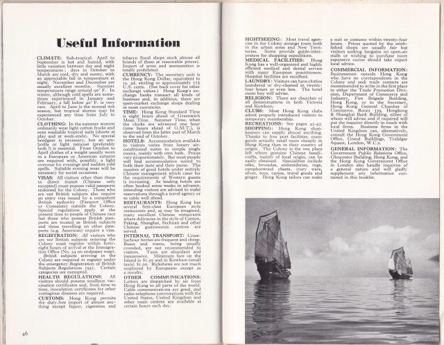 26 HK Guide Book Page 46&47 Useful Information