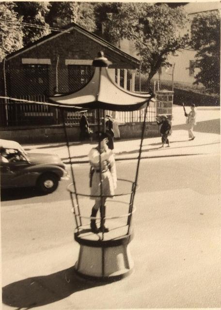 Traffic Policeman 1957.location not known, yet!—-It is now!!