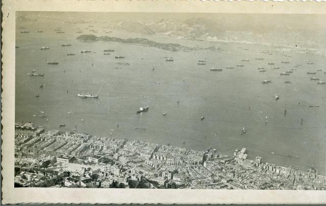 HONG KONG: 1950'S (view from the Peak 2)