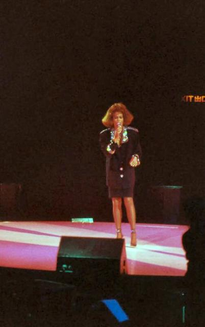 1988 - Whitney Houston in concert at the Coliseum