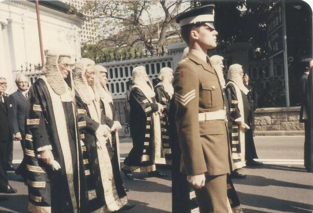 Sir Edward Youde's funeral #6