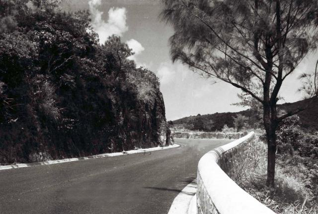 Tai Tam Road bends