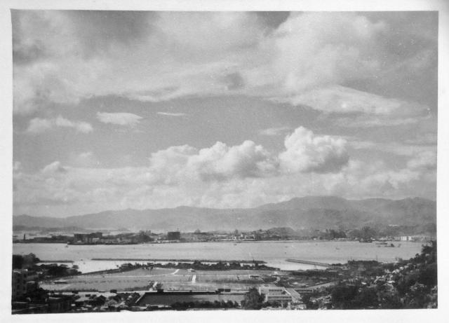 View from Tiger Balm Gardens 1958