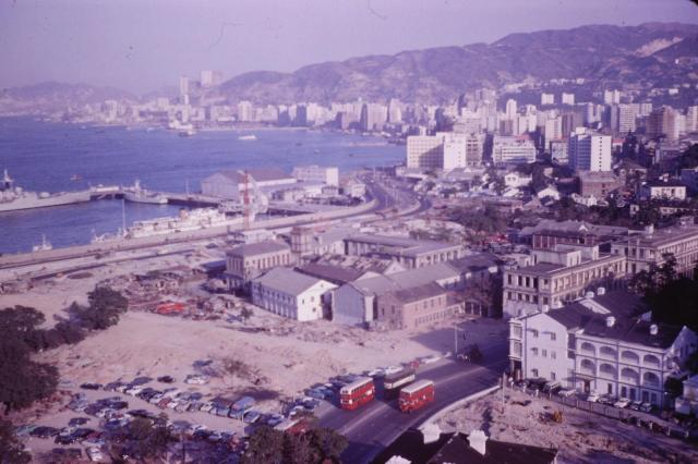 Admiralty c.1965, demolition for Cotton Tree Drive - s-l1600.jpg