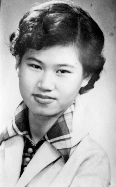 Amah Ah Boon Haw Daughter Kim Ling 1953.