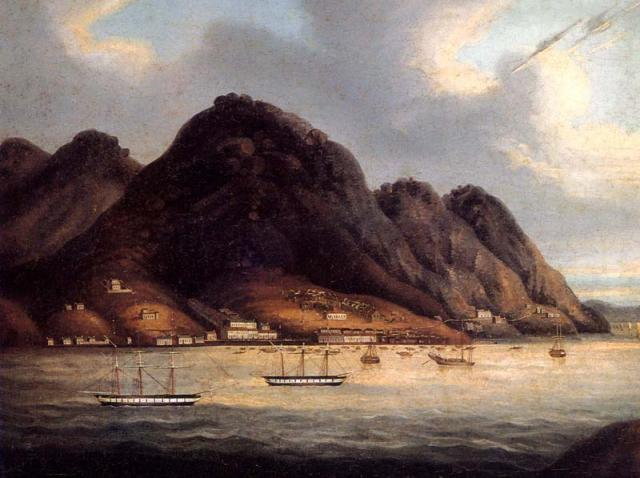 Early 1840s HK View - who owns it?