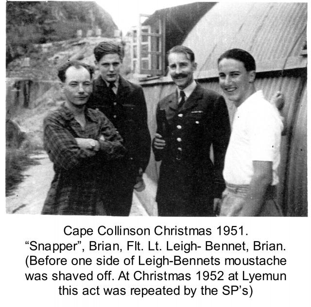 Cape Collinson Xmas Group 1951.