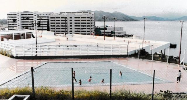 Chaiwan outdoor pool complex.