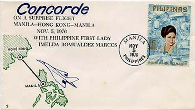 First Day Cover - Concorde's Surprise Visit to Hong Kong