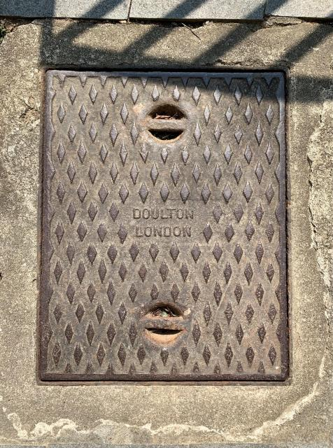 Doulton London drainage cover