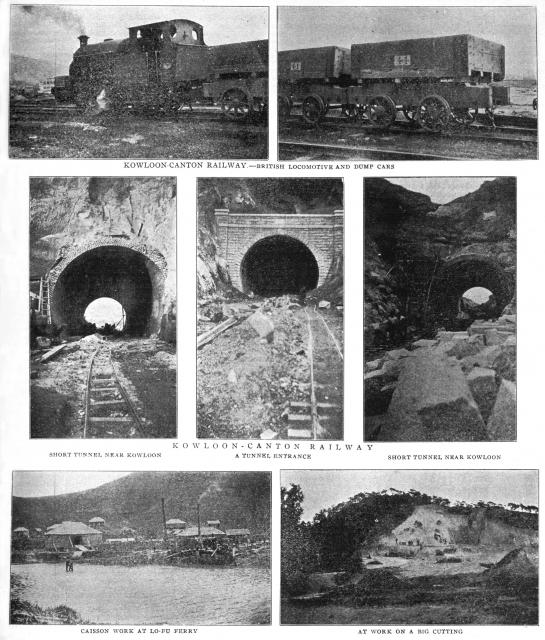 Construction Work on the Kowloon-Canton Railway