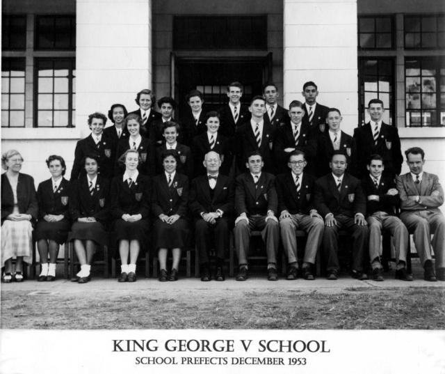 KGV Prefects 1953-54
