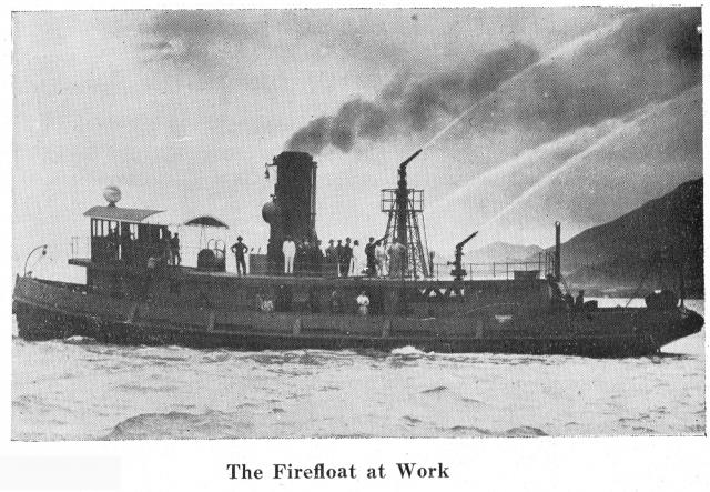 Hong Kong Fireboat  - Built 1927