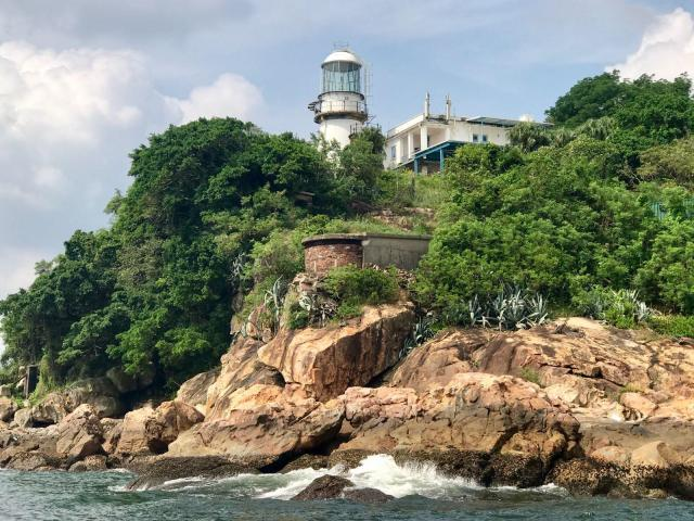 Green Island Lighthouse and DEL 2