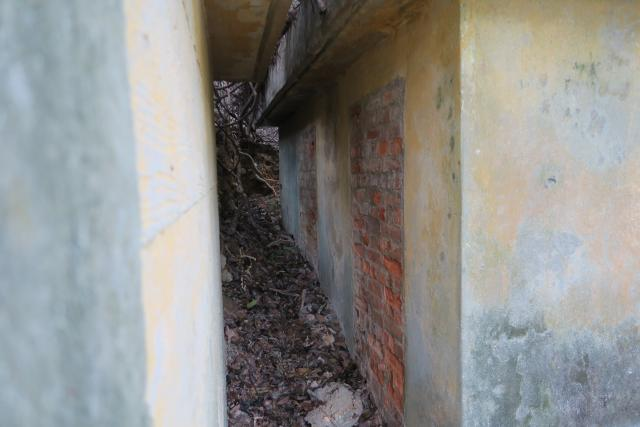 WW2 concrete shelters