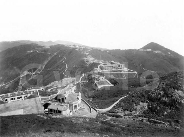 1890s View from the Peak