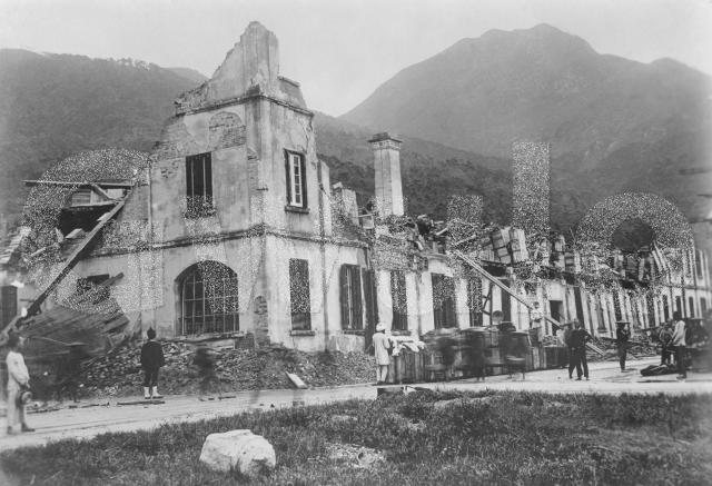 Jebsen & Co. Godown at West Point after the 1906 Typhoon